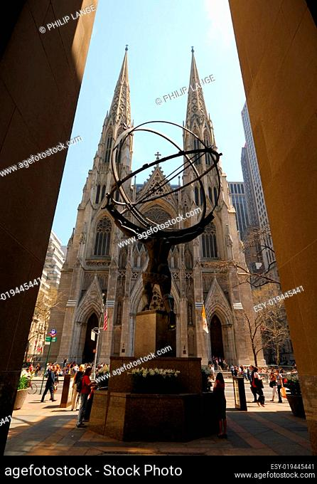 Saint Patrick Kathedrale in New York