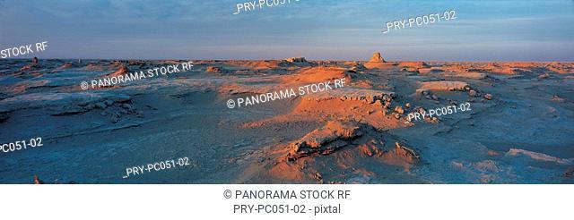 Loulan ruins in Lop Nur,Xinjiang