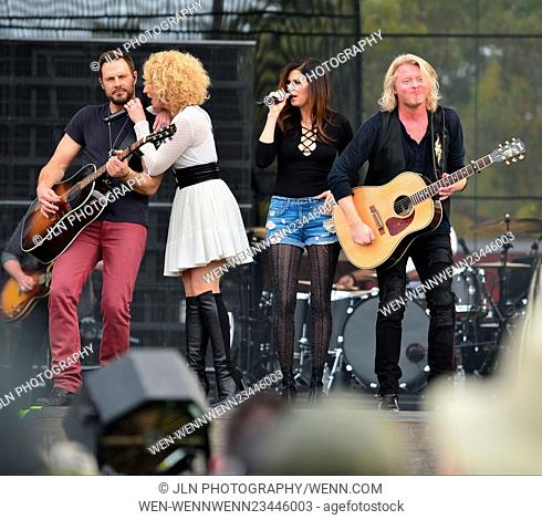 1st annual Kiss 99.9 Chilli Cookoff at CB Smith Park Featuring: Jimi Westbrook, Kimberly Roads Schlapman, Karen Fairchil