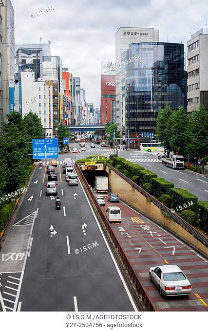 Tokyo, Ginza district, Japan