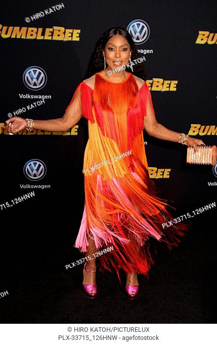 """Angela Bassett 12/09/2018 The Global Premiere of """"""""Bumblebee"""""""" held at TCL Chinese Theater in Los Angeles, CA Photo by Hiro Katoh / HNW / PictureLux"""