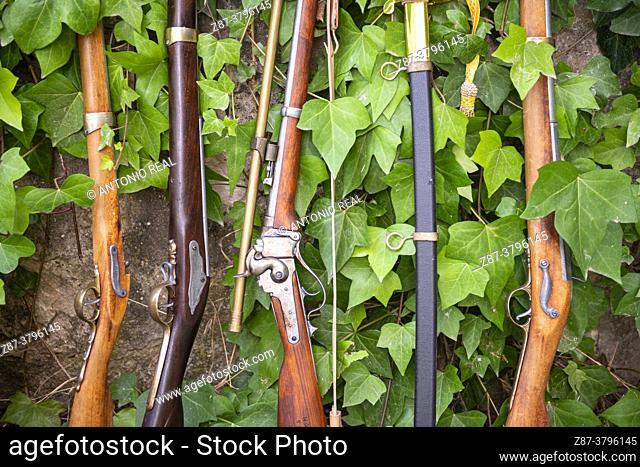 18th century muskets. Almansa, Albacete