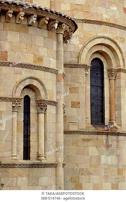Basilica de San Vicente. Ávila. Castilla y Leon. Spain