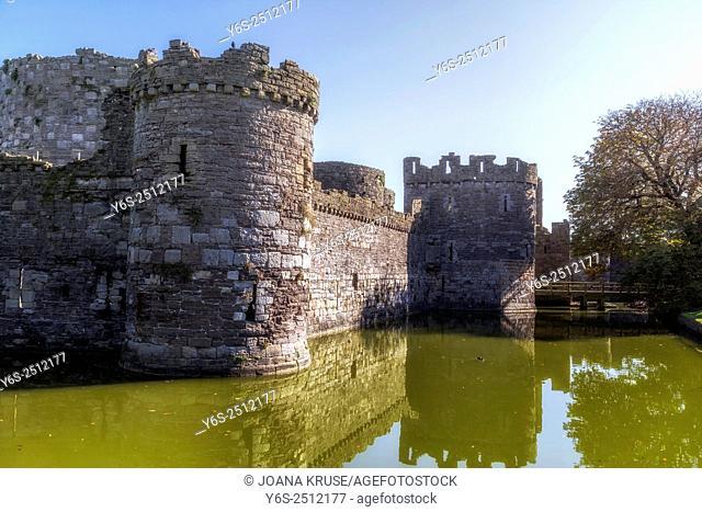 Beaumaris Castle, Isle of Anglesey, Wales, United Kingdom