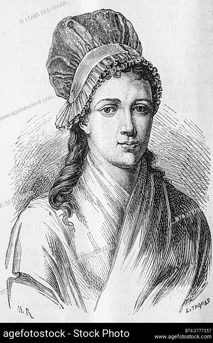 charlotte corday, 1792-1804, history of france by henri martin, editor furne 1850