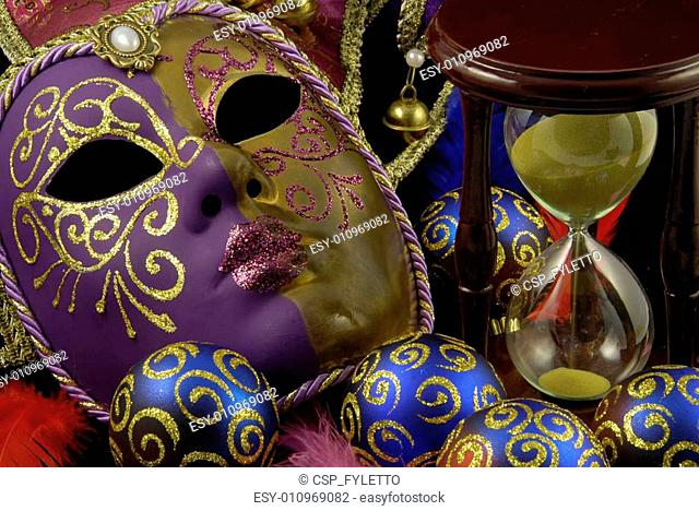 Mask and baubles