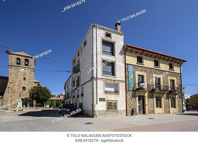 centro de recepcion de la serrania Norte Soriana, Almarza, Soria, Comunidad Autónoma de Castilla-León, Spain, Europe
