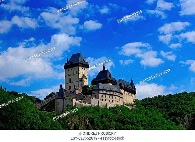 Gothic royal castle Karlstejn, Czech Republic