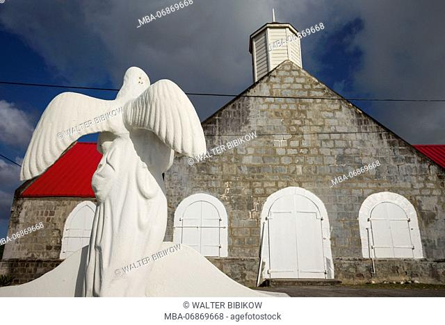 St. Kitts and Nevis, Nevis, Vaughans, St. Thomas Anglican Church, exterior