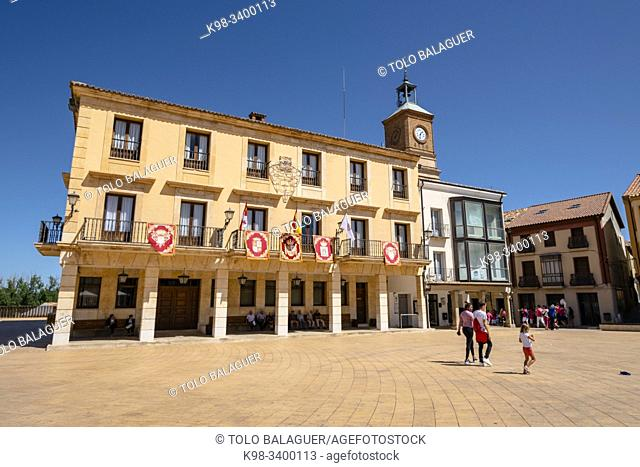 Ayuntamiento, Almazán, Soria, comunidad autónoma de Castilla y León, Spain, Europe