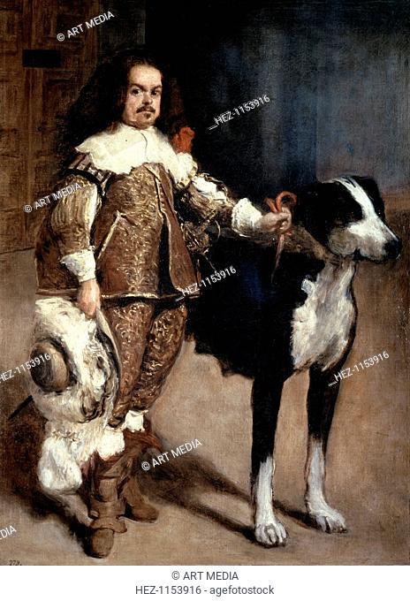 'Court Dwarf Don Antonio el Inglés', 1640-1645. From the Museo del Prado, Madrid