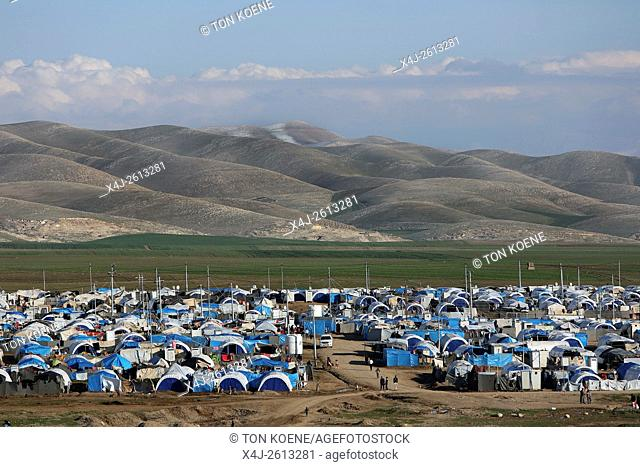 refugee camp in Northern Iraq