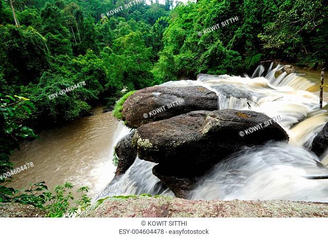 waterfall in Khao Yai National Park