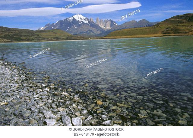 Laguna Amarga. Torres del Paine National Park. Magallanes XIIth region. Chile