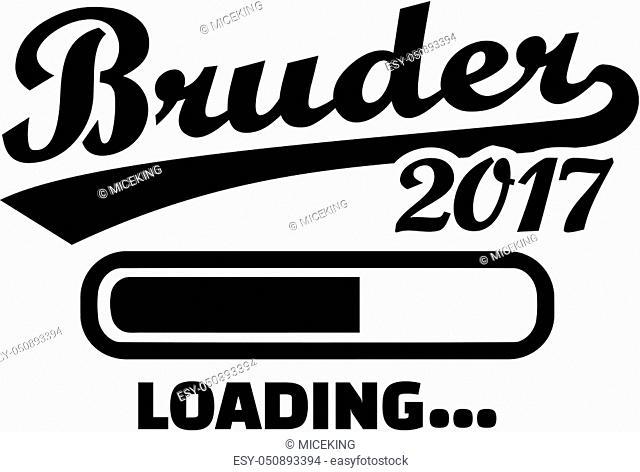 Brother 2017 - Loading bar german
