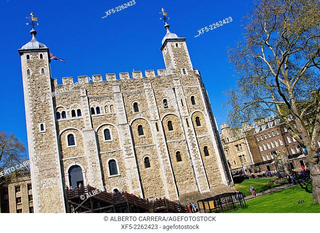 Tower of London, Worl Heritage Site, London, England, Great Britain, Europe