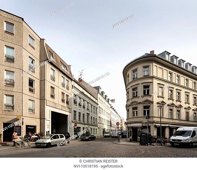 Sophieneck, Grosse Hamburger Strasse, corner Sophienstrasse, Mitte, Berlin, Germany, Europe