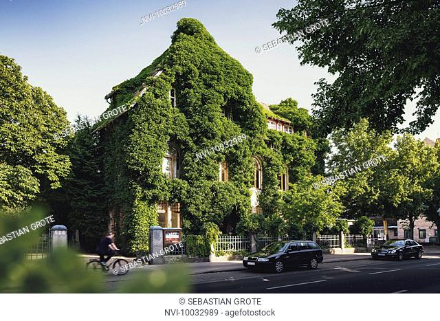 Green building, Roneburg, Hannover, Lower Saxony, Germany