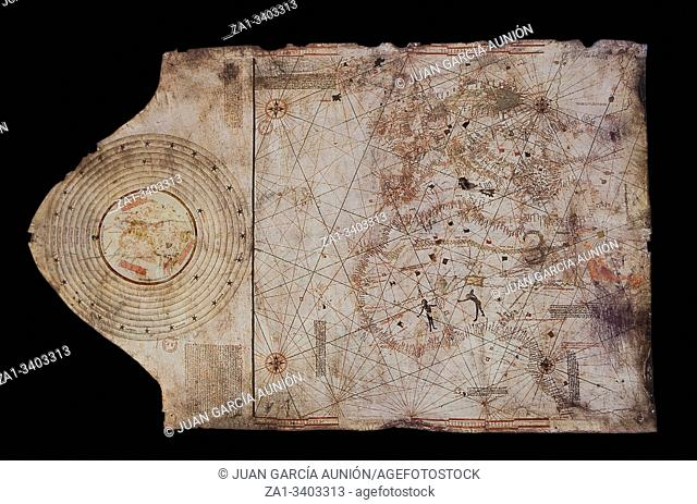 1492 Chart attributed to Christopher Columbus. Naval Museum of Madrid
