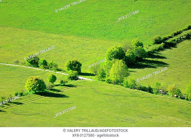 Paysage des Alpes de Haute Provence, 04, PACA,