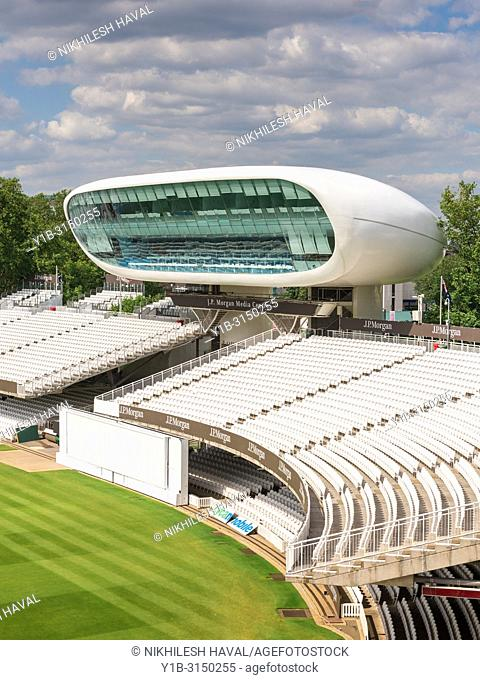 J. P. Morgan Media Centre, Lords Cricket Ground, London, UK