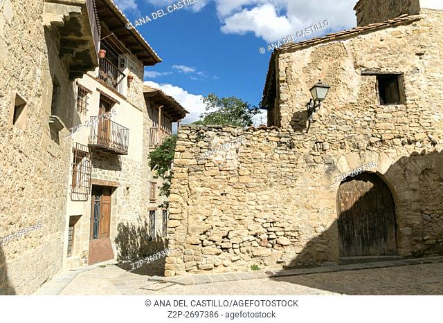 Mirambel is one of the most prettiest towns in Spain Maestrazgo mountains Teruel Aragon