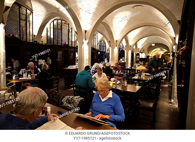Winery of the City of Bremen, with 600 years of tradition, and more than 650 references of German wine. Bremen, Germany, Europe