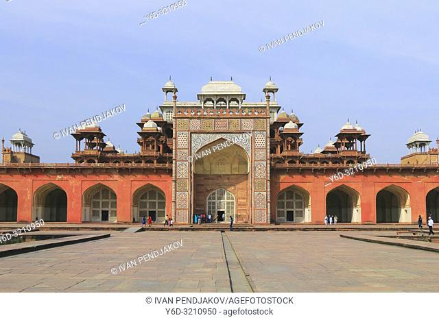 Tomb of Akbar the Great, Agra, Uttar Pradesh, India