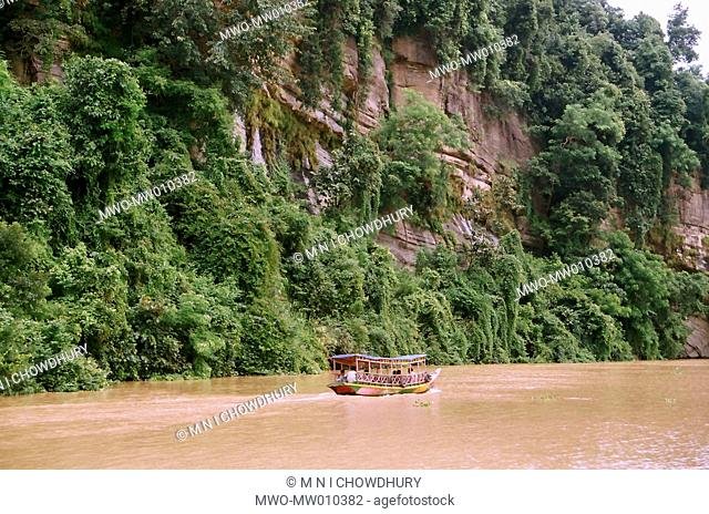 Suvolong Kaptai Lake, Rangamati Hill Tracts, Chittagong Hill District, Bangladesh 2007
