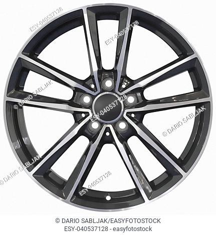 Sport Racing Aluminum Wheel Rim Cutout