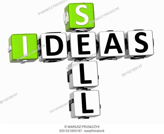 3D Sell Ideas Crossword