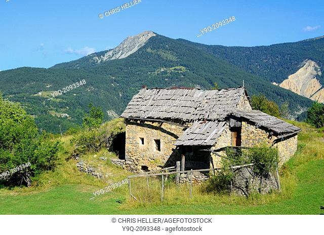 Abandoned Farm between Peone & Valberg Haut-Var Alpes-Maritimes France