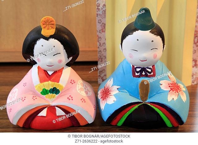 Japan; Seto City, Aichi Prefecture, ceramics, dolls,