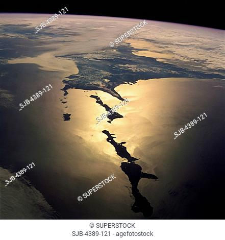 A View From Space of the Hokkaido and Kuril Islands, Japan