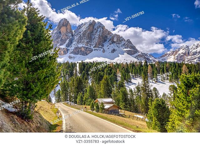 Beautiful Day in the Dolomites South Tirol Italy World Location
