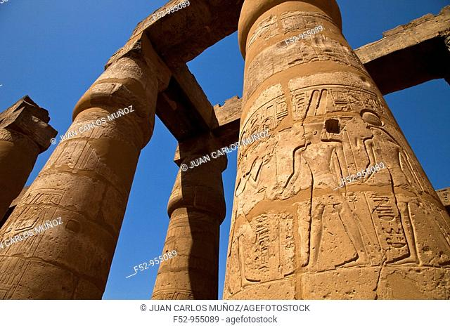 Luxor Temple, Nile Valley, Egypt