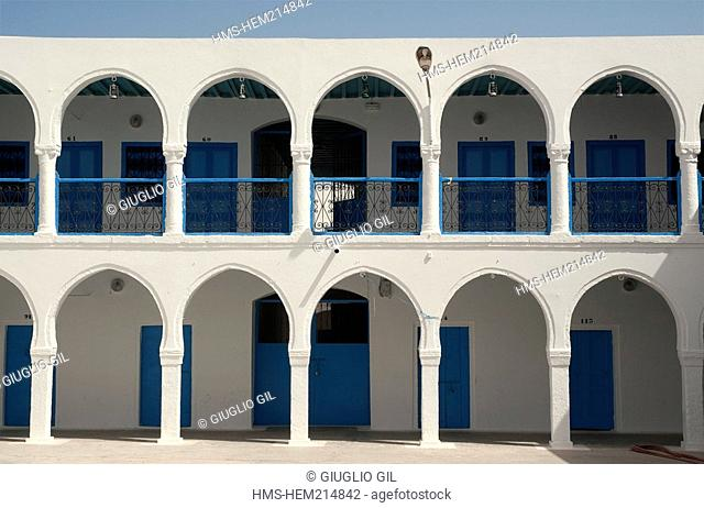 Tunisia, south region, Djerba island, old synagogue of Ghriba, the oldest synagogue of Africa 586 before JC