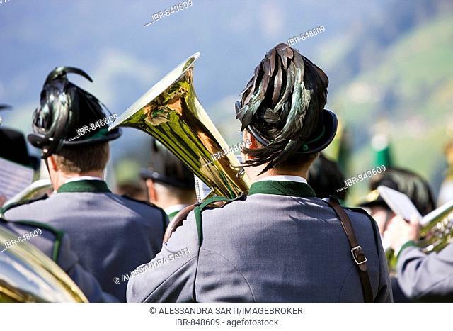 Gauderfest 2008 Festival, Zell am Ziller, Zillertal Valley, North Tyrol, Austria, Europe