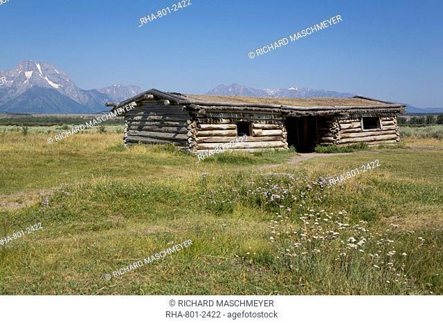 Cunningham Cabin, Grand Teton National Park, Wyoming, United States of America, North America