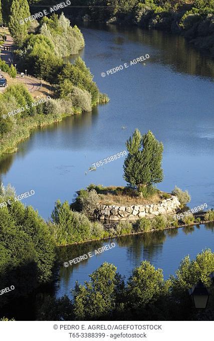 Spain. Zamora, Puebla de Sanabria. River Tera