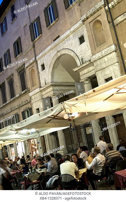 Italy, Umbria, Perugia, Fani street