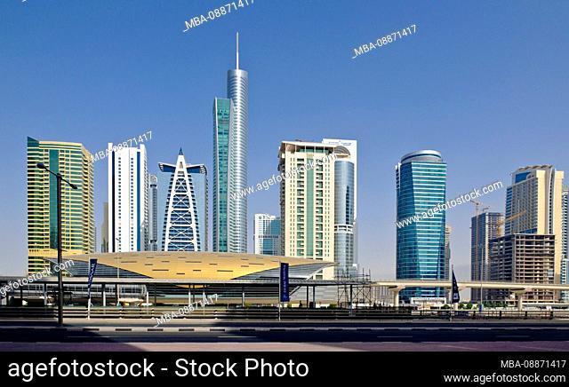 Jumeirah metro station, Dubai, UAE, Arabian Peninsula