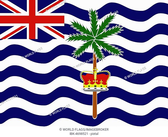 Official national flag of the British Indian Ocean Territory