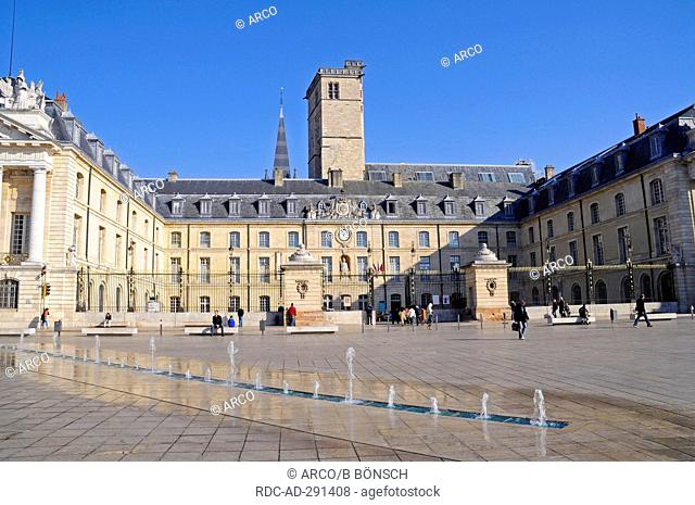 Ducal palace, Place de la Liberation, Dijon, Departement Cote-d\'Or, Bourgogne, France / Burgundy