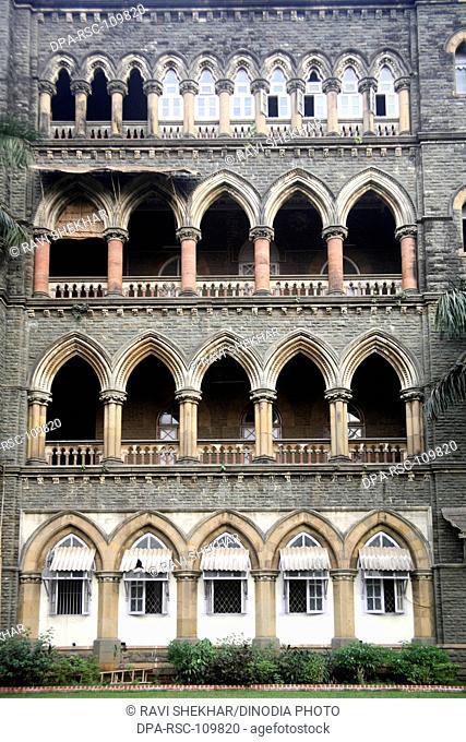 Mumbai high court building ; Mumbai Bombay ; maharashtra ; india