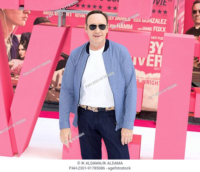 Kevin Spacey attends the European Premiere of BABY DRIVER. London, UK. 21/06/2017 | usage worldwide. - London/United Kingdom of Great Britain and Northern...