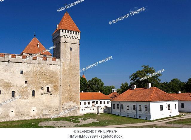 Estonia Baltic States, Saare Region, Saaremaa Island, Kuressaare, Episcopal Castle