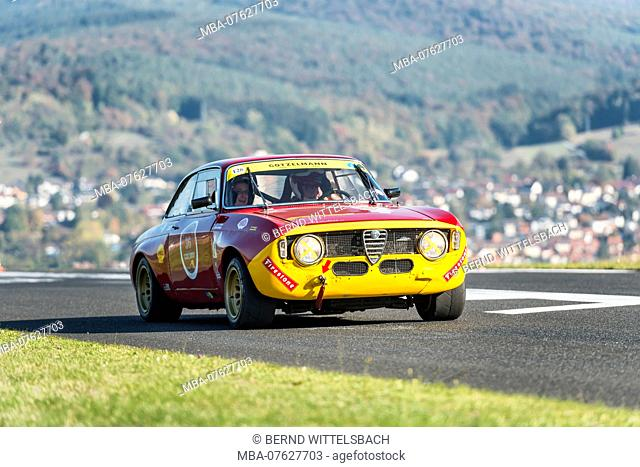 Michelstadt, Hesse, Germany, Alfa Romeo GTAm R, 1600 ccm, 108 HP, year of manufacture 1973 on the event Pista & Piloti