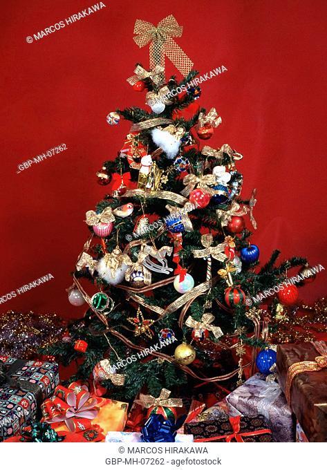 Christmas ornaments, christmas tree