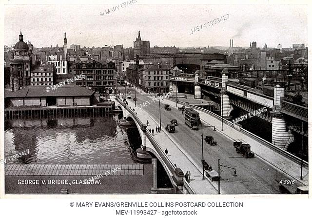 Glasgow, Scotland - George V Bridge